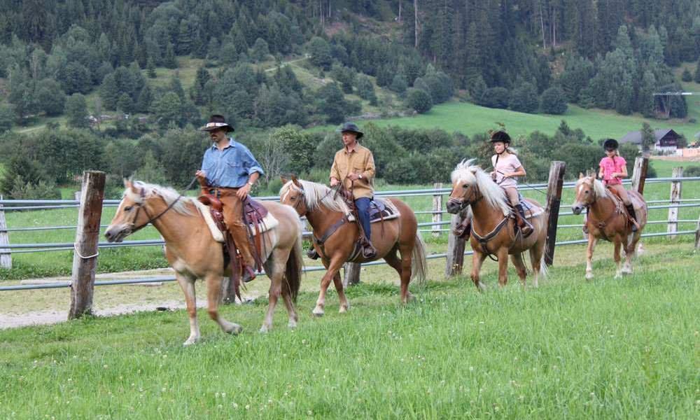 Vacanza a cavallo in Alto Adige / Ridanna