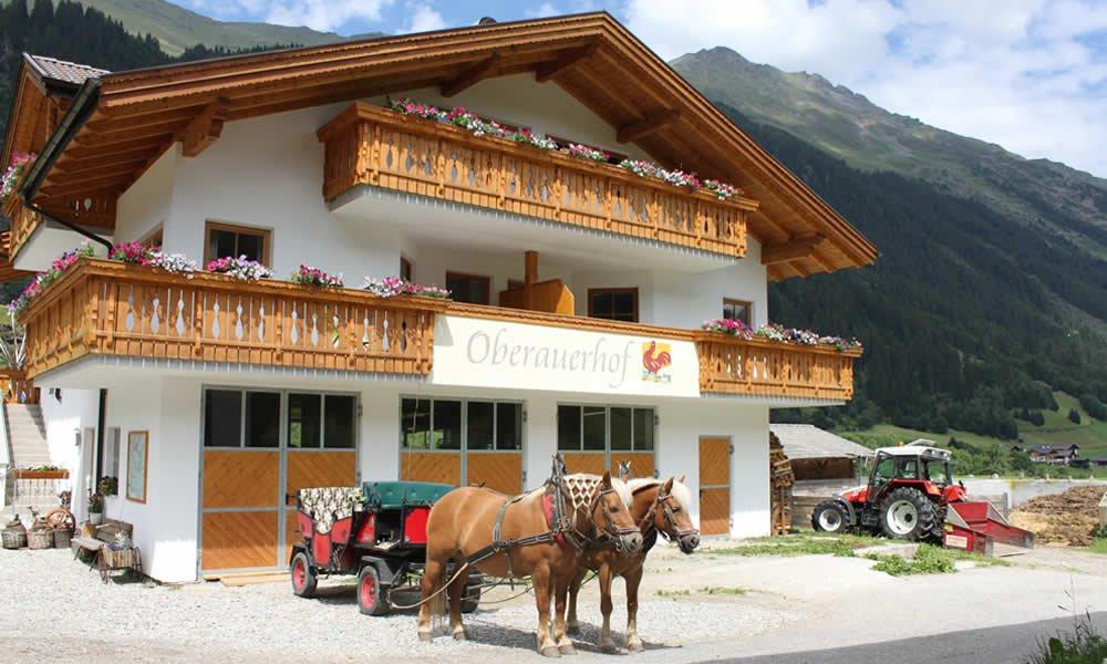 Bauernhofurlaub und Freizeiterlebnis auf dem Oberauerhof