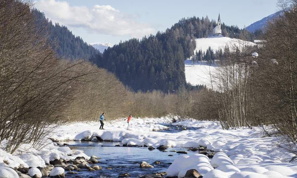 Winteridylle in Ridnaun & Skilanglaufen ab/bis Haustür