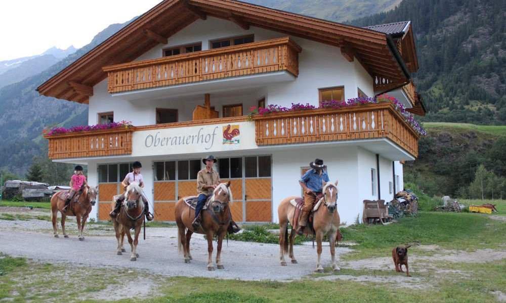 Vacanza al maso con cavalli in Alto Adige